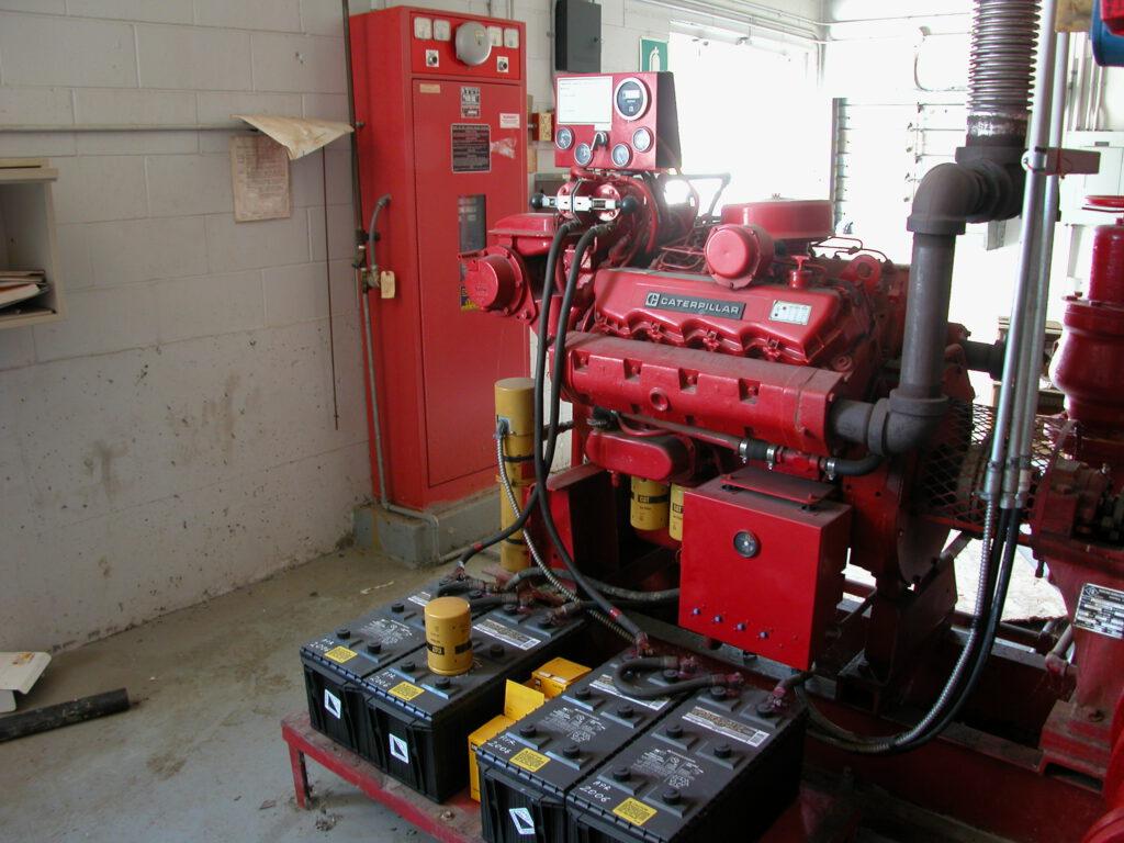 Fire pump 014