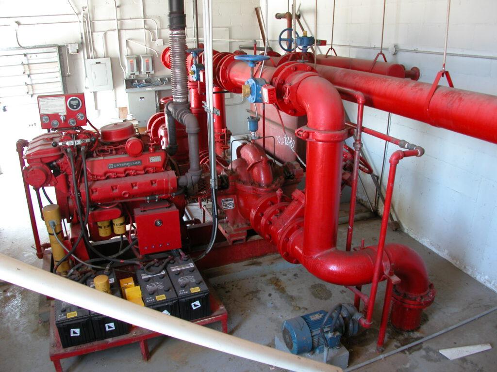 Fire pump 015